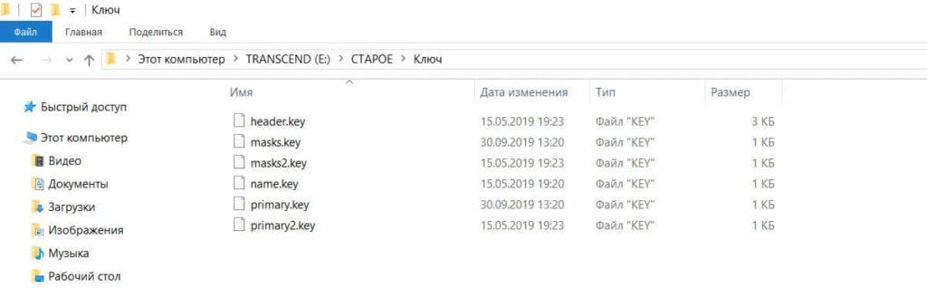 Электронный ключ для торгов (файлы key) ГОСТОРГ